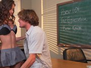 Belle Knox Quickie With Classmate