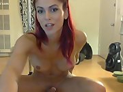 Horny slutty bitch with a dick