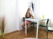 Hot blonde Czech gets fucked nicely