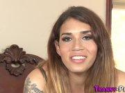 Tgirl prostitute bangs ho