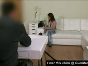Amateur fuck in casting doggystyle