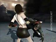 Horny Hentai 3D Hentai Chick gets fucked