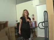 WANKZ- Sheena Shaw is The Office Whore
