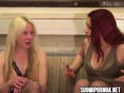 2 finnish lesbians suomipornoa