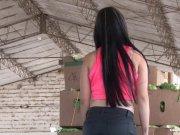 CARNE DEL MERCADO - Hot reality fuck with cute Latina Valeria Matasanos