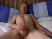 UK daddy jerking off