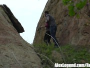 Hottest Hiking 3some! Alex Legend Fucks Sarah Shevon & Penny Pax!
