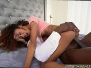 Young teen rough anal Squirting black
