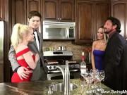 Blonde Wife Cuckolds Husband Live