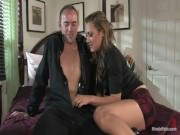Gwen Diamond Makes The Repairman Her Slave
