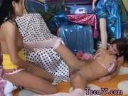 Ebony lesbians show pussy hot baby oil