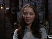 Jessie Palmer moans in pleasure while