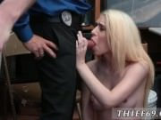 Fake taxi blonde police first time