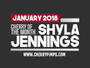Our Newest Cherry of the Month Shyla Plays With Her Perfect Trimmed Pussy