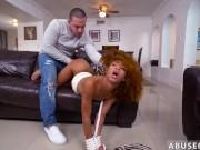 Ebony girl gets punished xxx Pretty Tied up